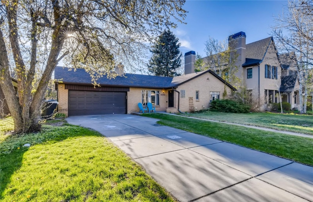 Home For Sale, Hilltop Neighborhood, Ranch Style, Beige Color