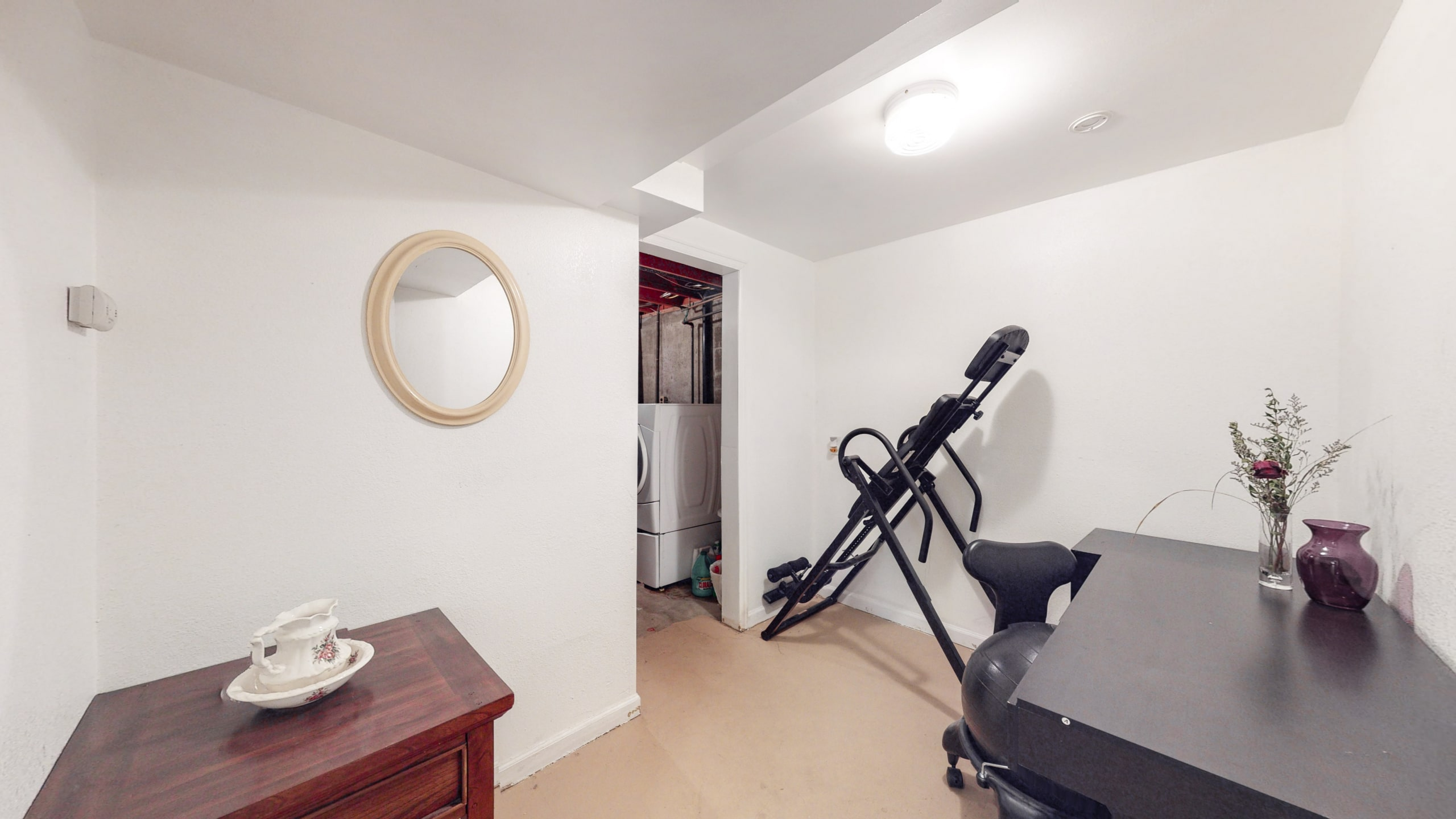 Arvada Home For Sale, Office, Flex, Zoom Space, Desk, White Walls