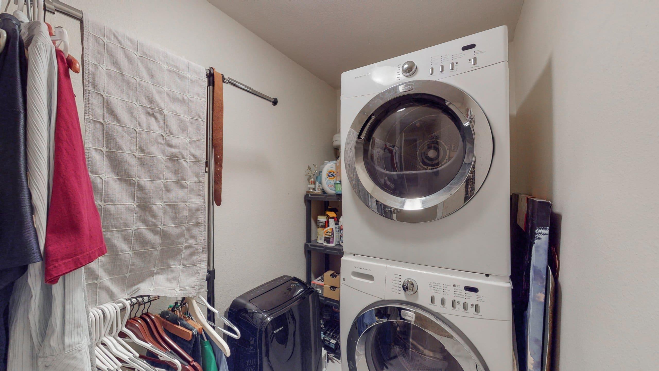 Congress Park Condo For Sale In Unit Laundry Room