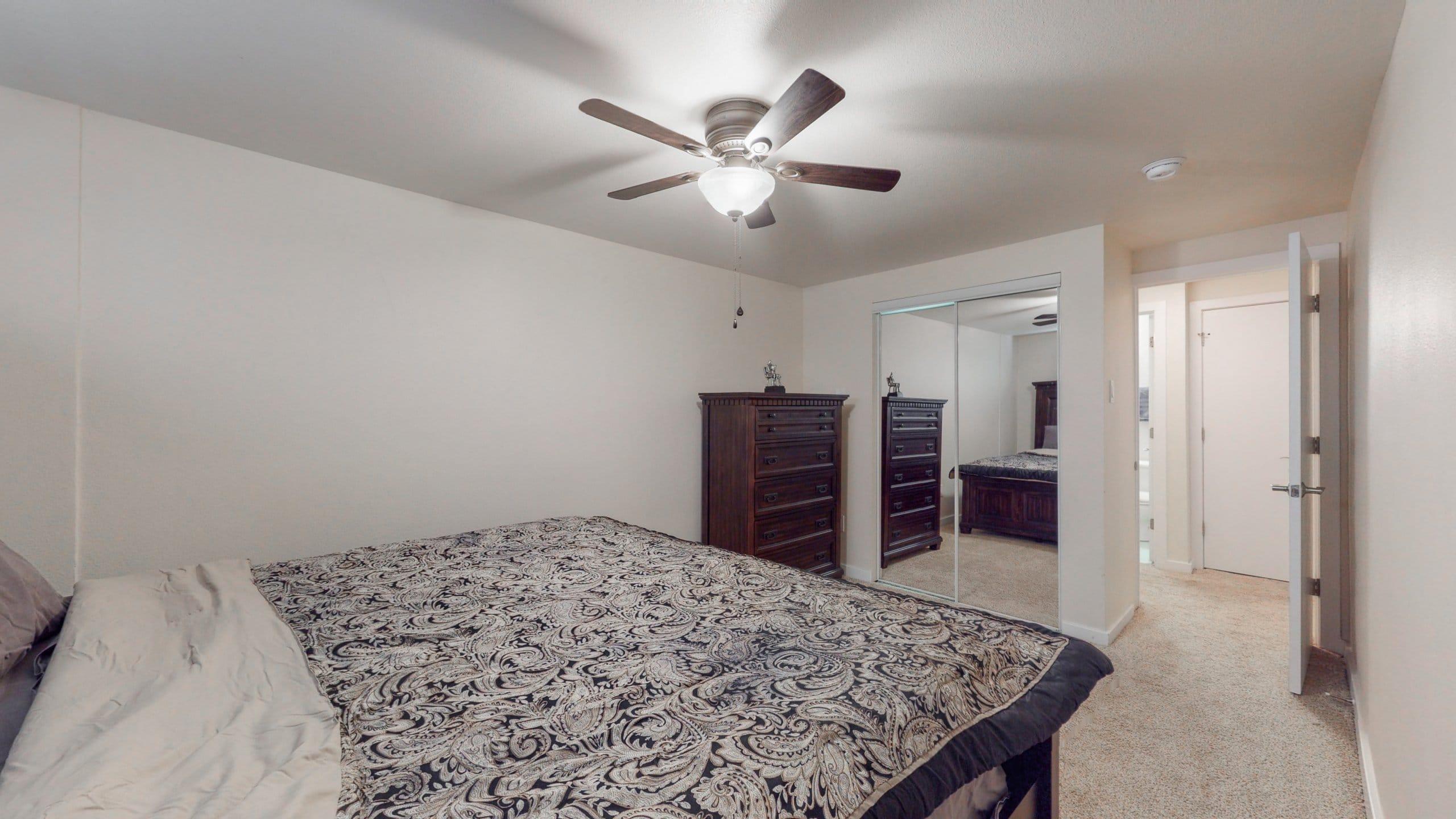Congress Park Condo For Sale Master Bedroom