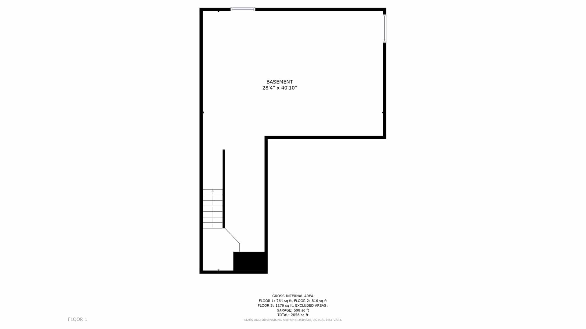 Commerce City Home For Sale Basement Floor Plan