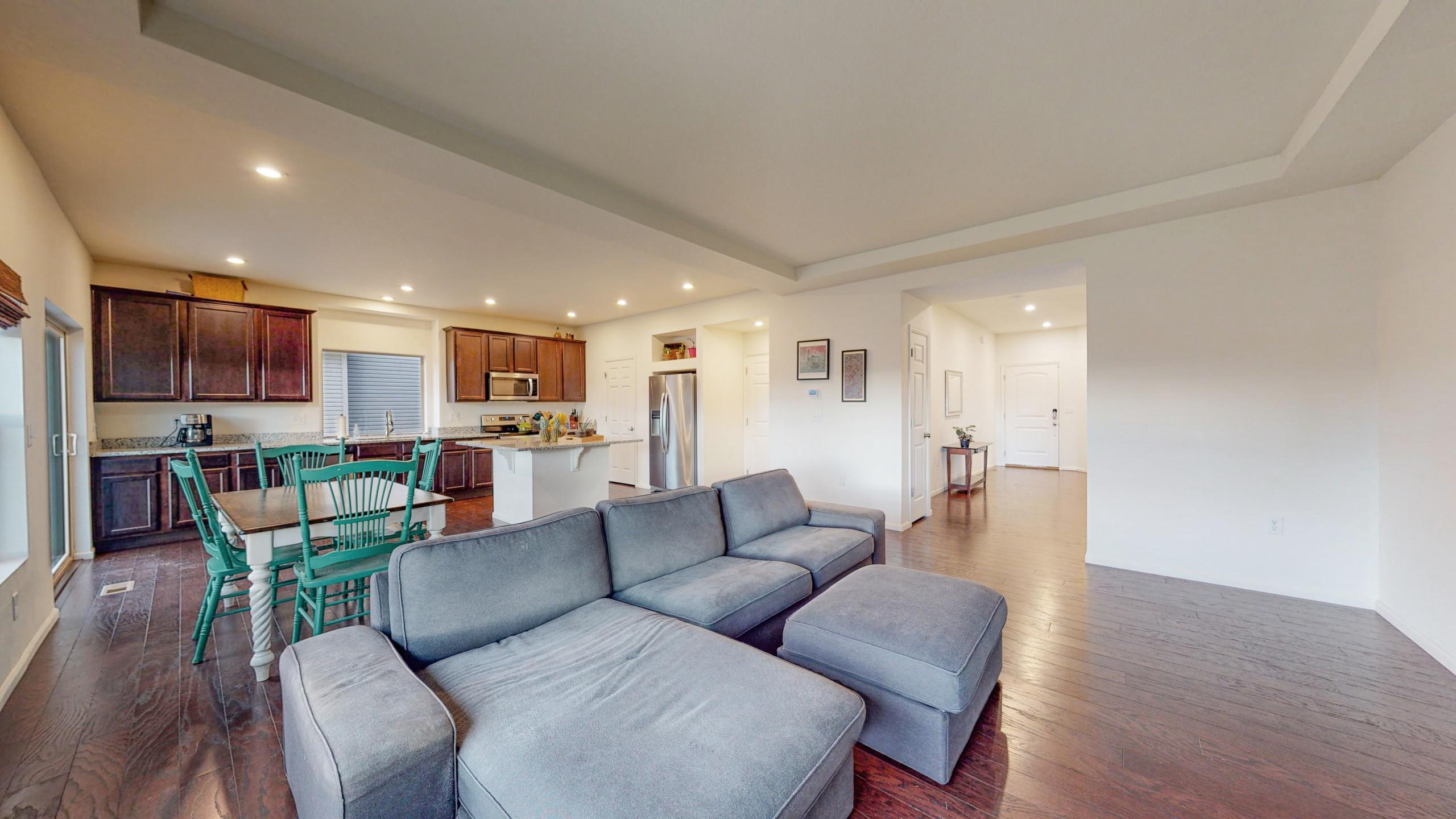Commerce City Home For Sale Living Room, Hardwood Floors