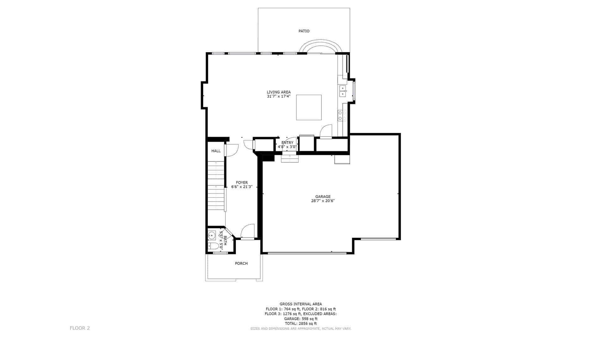 Commerce City Home For Sale Main Floor Plan