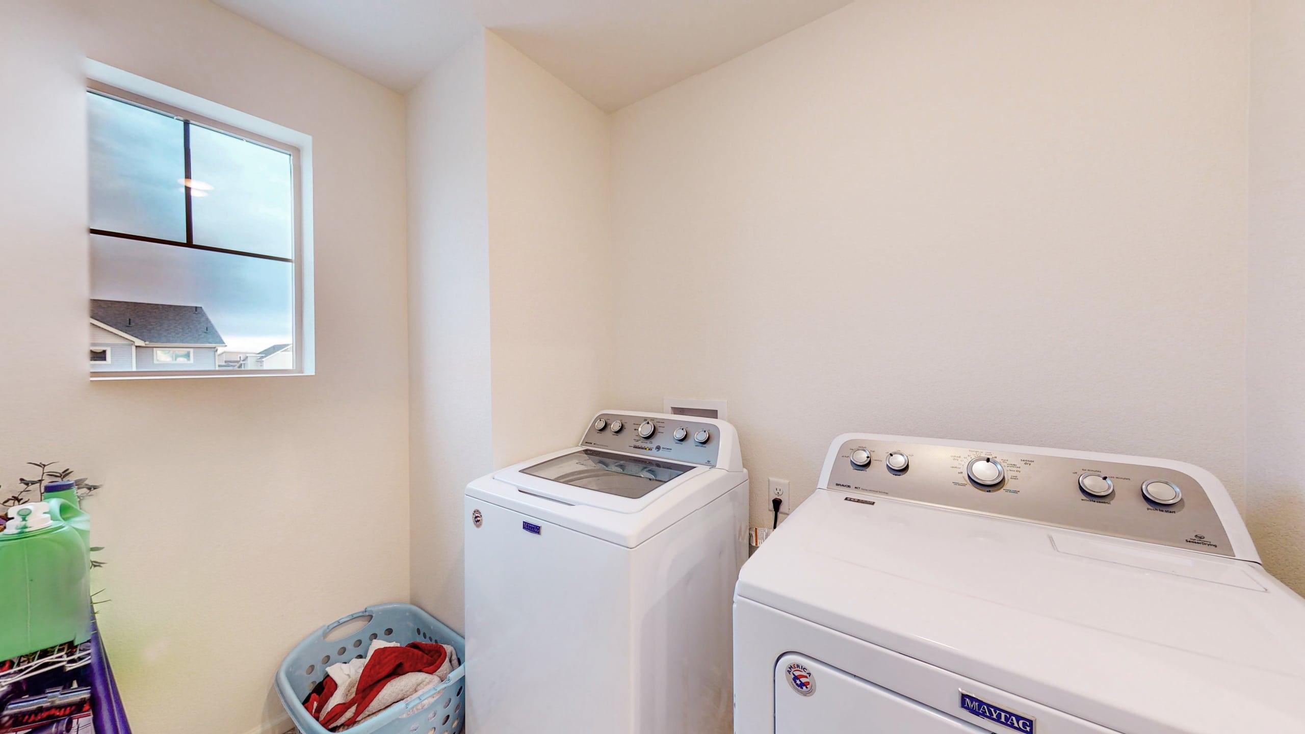 Upstairs Washer & Dryer