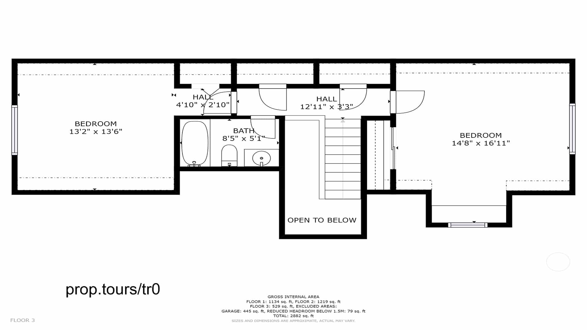 Brighton Home For Sale Upper Floor Plan