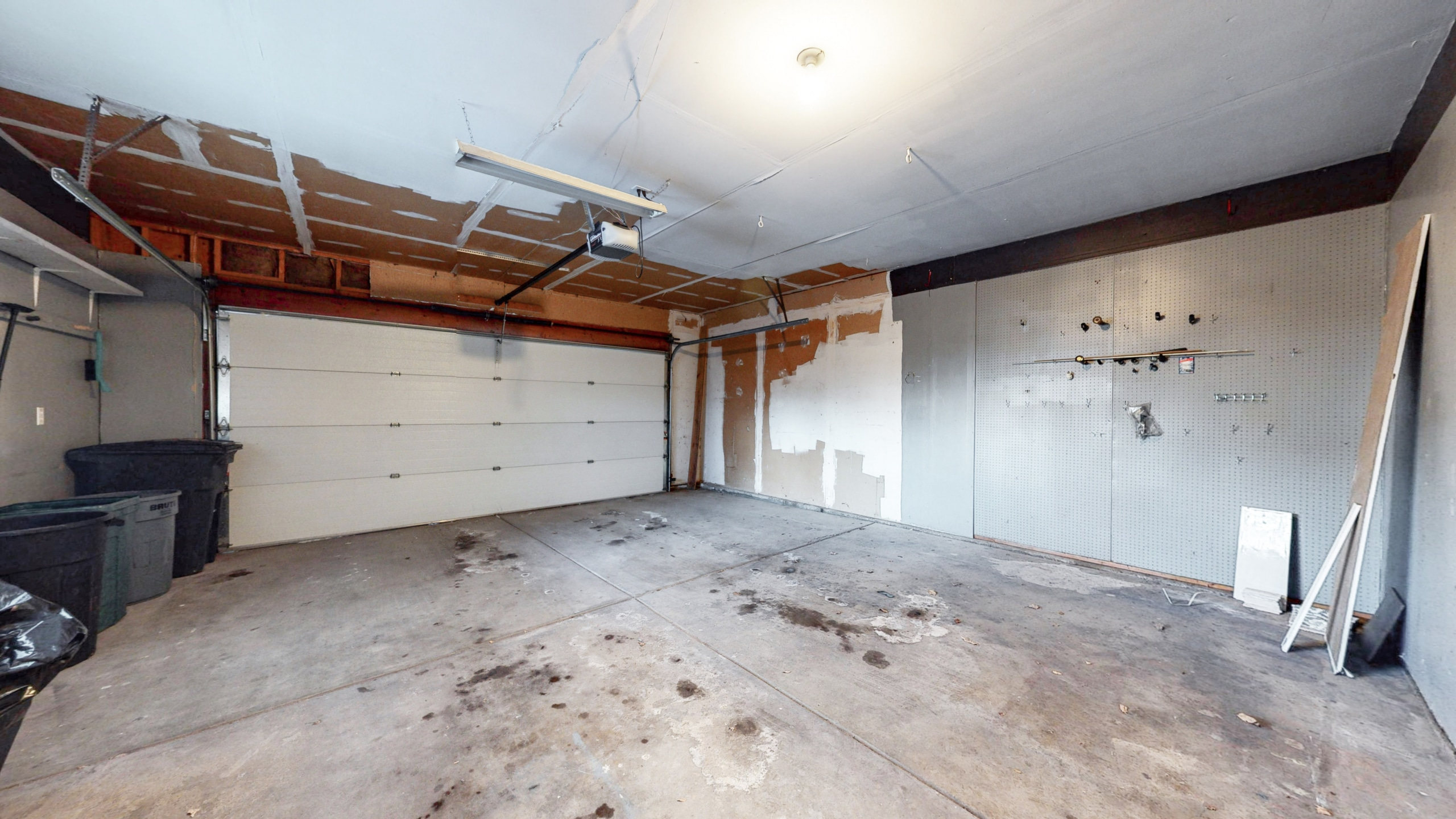 Brighton home for sale, large 2 car garage, attached to home, plus storage room