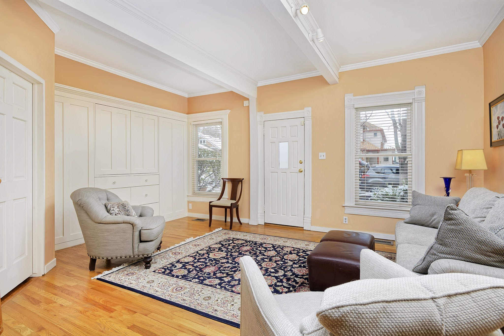 Stunning Victorian Home in Washington Park With Tall Ceilings, Custom Built-ins and more