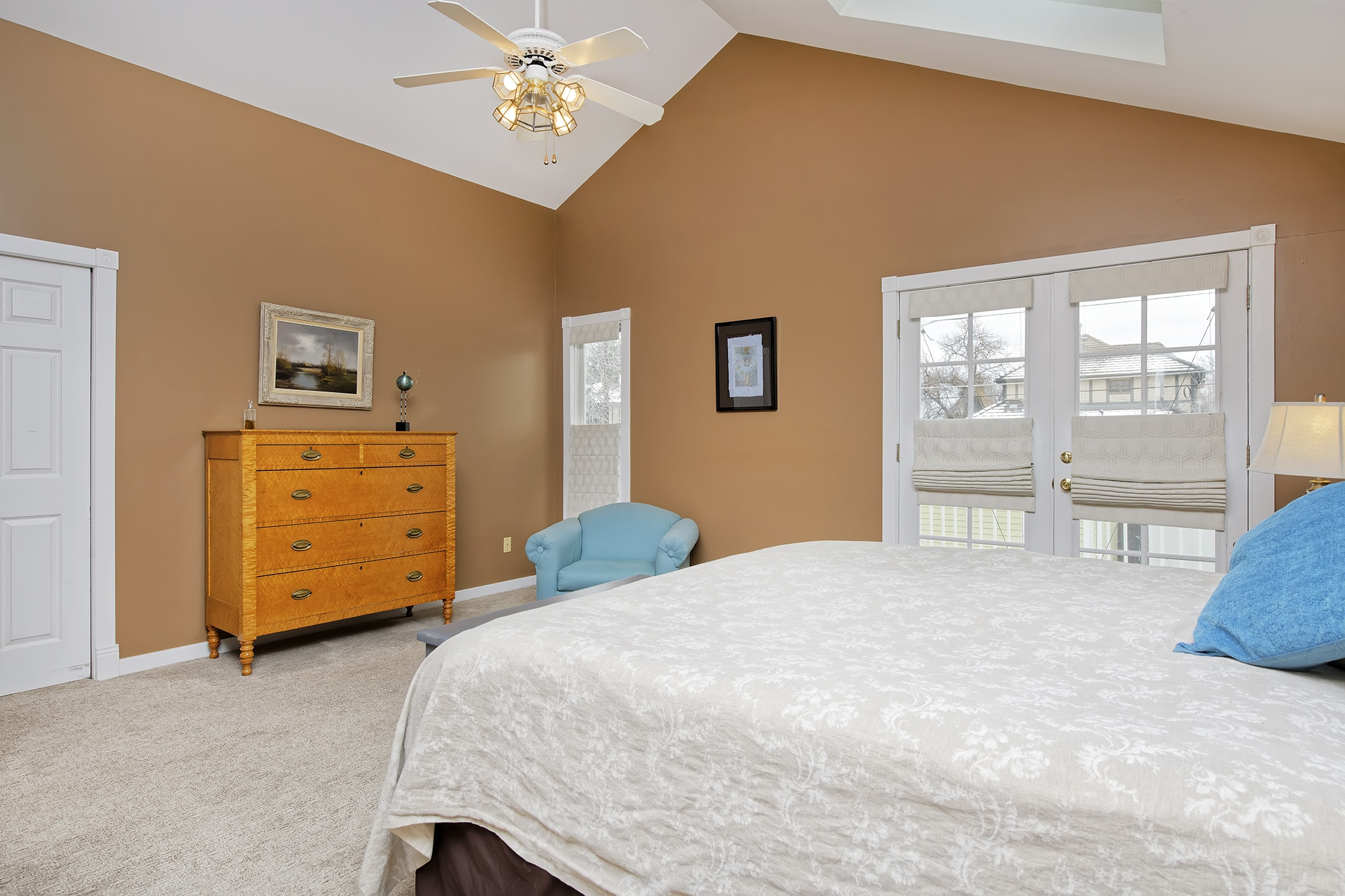 Washington Park Home For Sale With Large Master Bedroom and Skylights