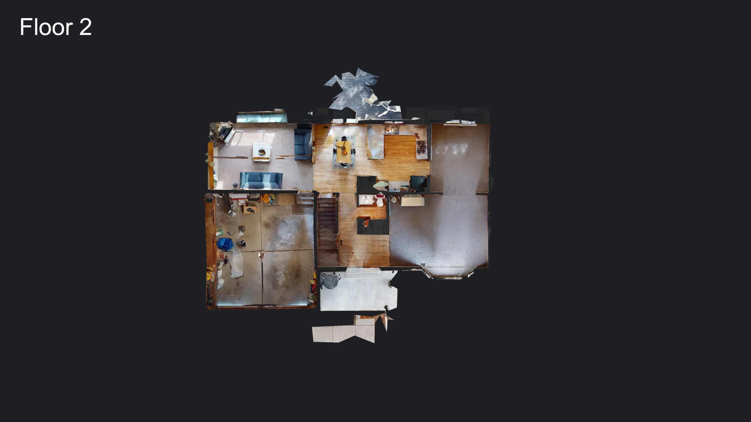 3D Floor Plan of Main Floor