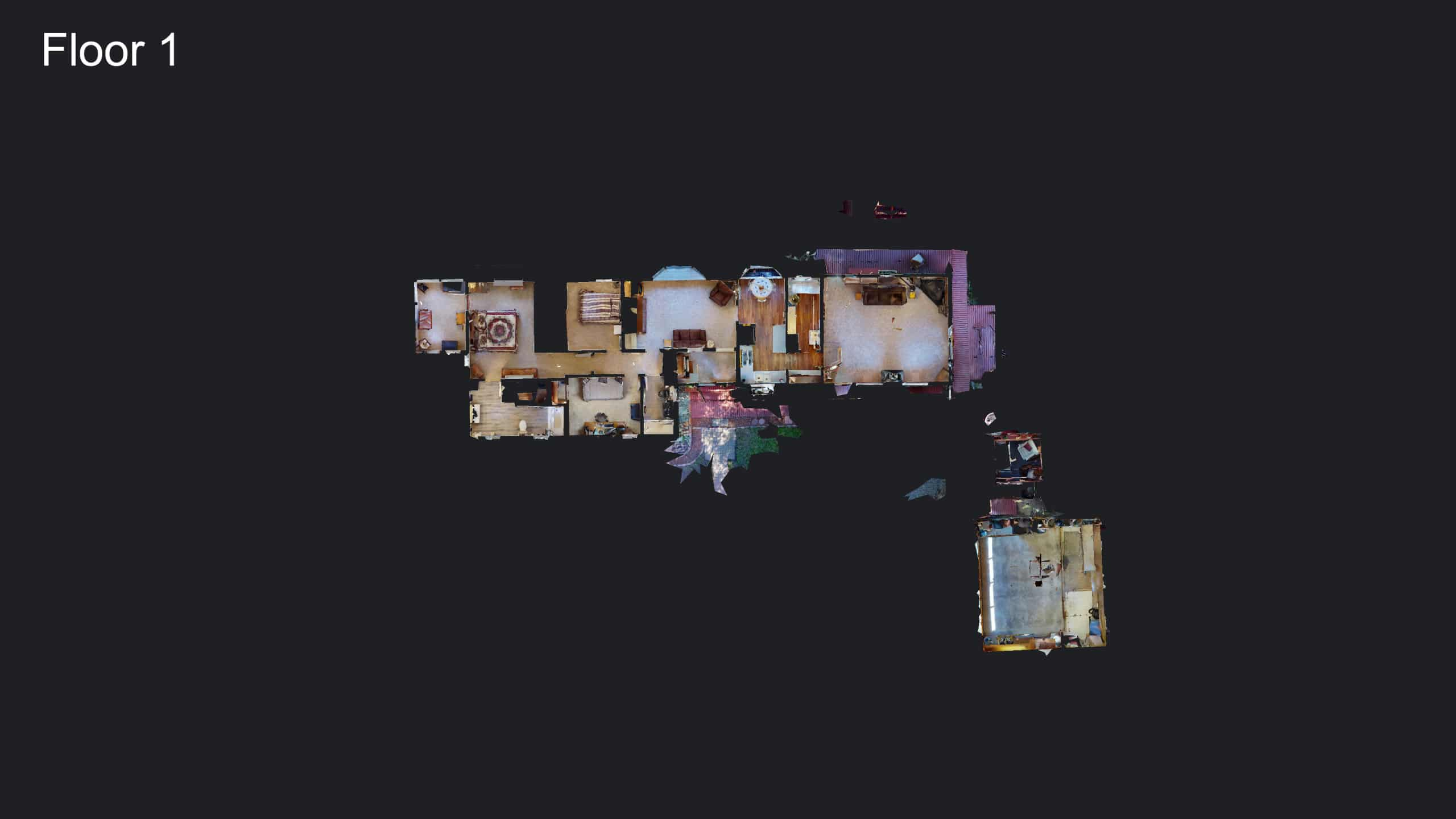 Evergreen Home for Sale 3D floor Plan Design