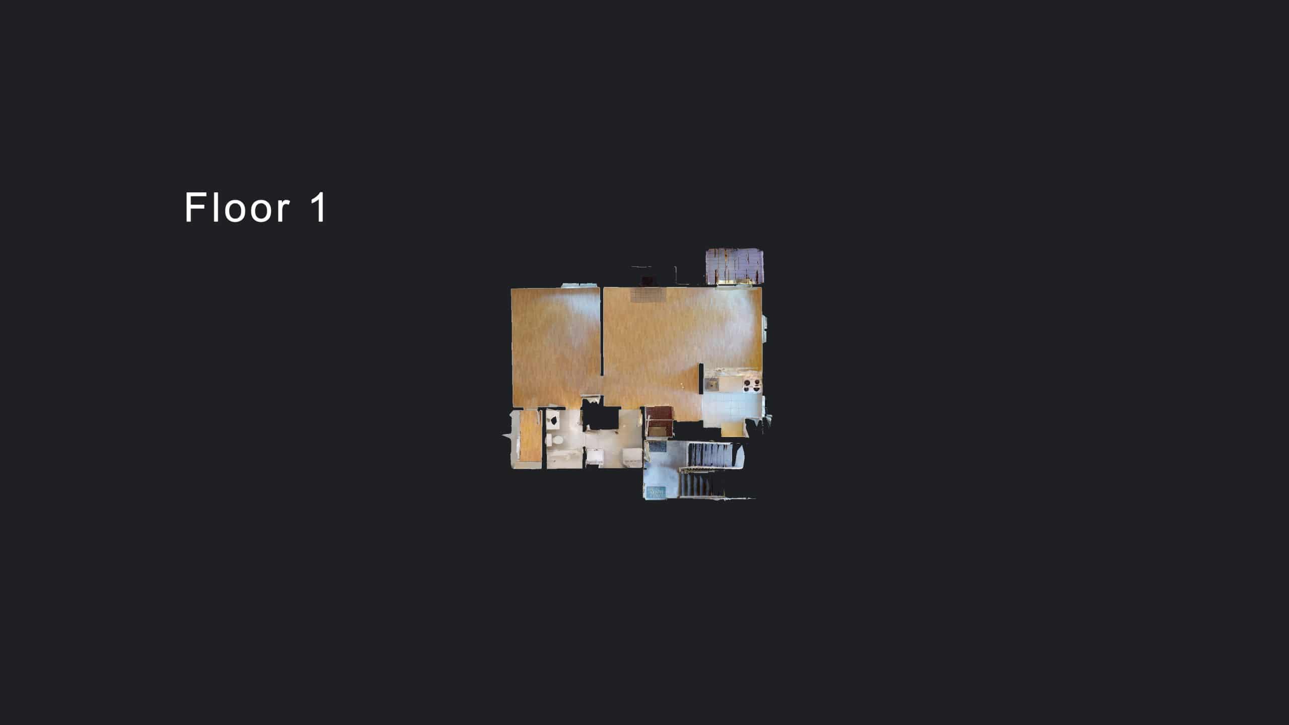 3D Virtual Floor Plan of Aurora Condo For Sale