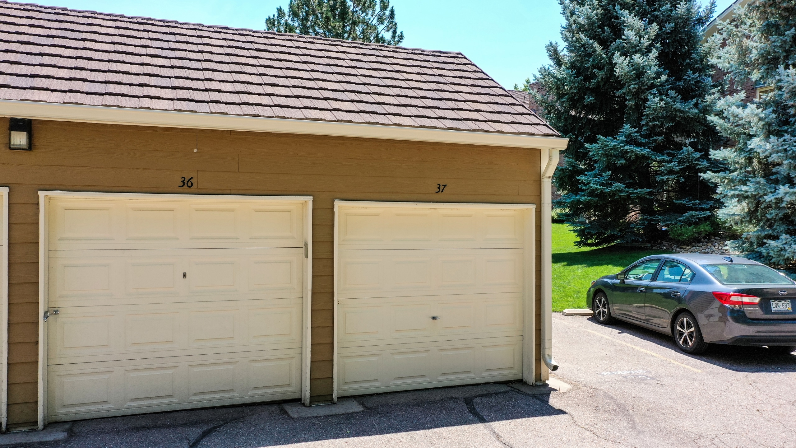 Garage Space 37 Single Car Garage Comes With the Condo For Sale.