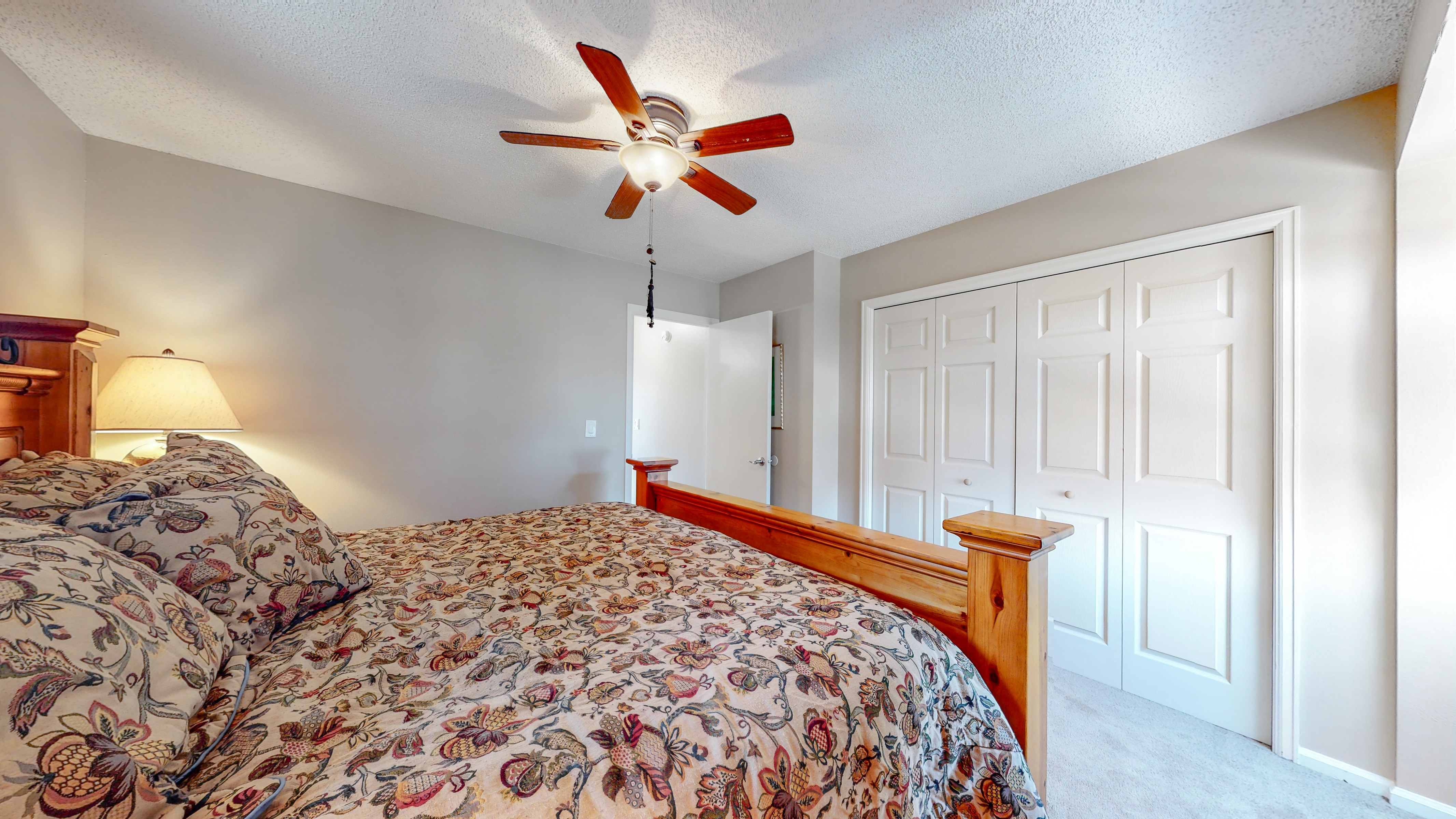 Upstairs Bedroom with large closet
