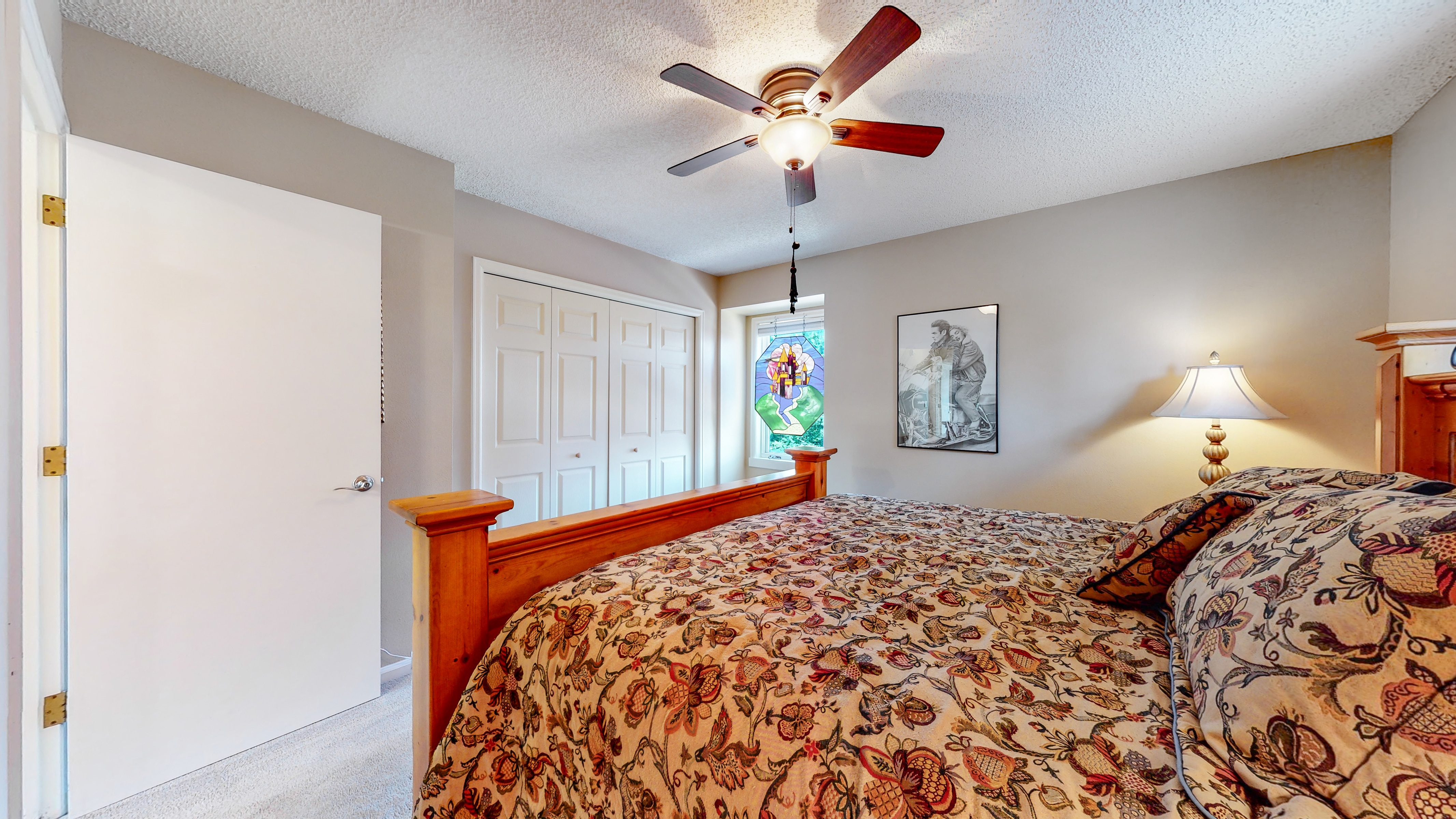 Upstairs bedroom can fit a king bed in Arvada, CO